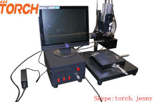 SMT Small PCB Production Line with Manual Visual Pick and Place Machine Tp38V (TORCH) pictures & photos