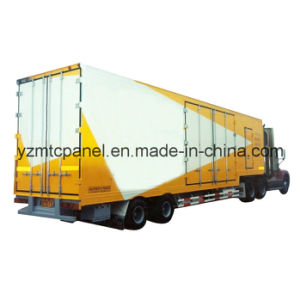 FRP PU Foam Composite Panel for Insulated Truck Body pictures & photos