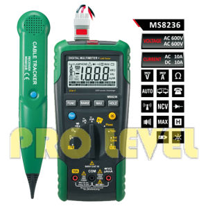 LAN/Tone/Phone Tester Autoranging Digital Multimeter (MS8236) pictures & photos