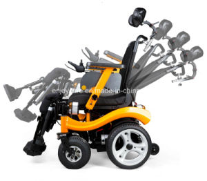 Electric Power Wheelchair with Backrest pictures & photos