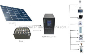 Hot Sale Cheap Price for 12V LED Lights Lighting off-Grid Sun Energy Power Home Solar Kit pictures & photos