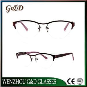 New Fashion Eyeglasses Eyewear Optical Metal Frame for Woman pictures & photos
