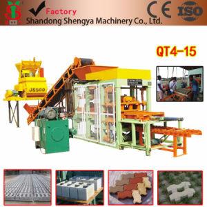 Full Automatic Hydraulic Concrete Block Machine (QT4-15) pictures & photos