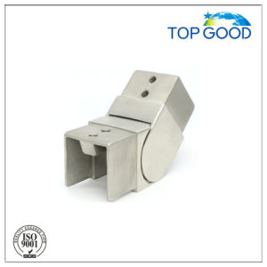 Stainless Steel Square Shape Flexible/ Adjustable Upward Slot Tube Connector (53180) pictures & photos