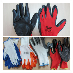Nitrile Gloves Cheap pictures & photos