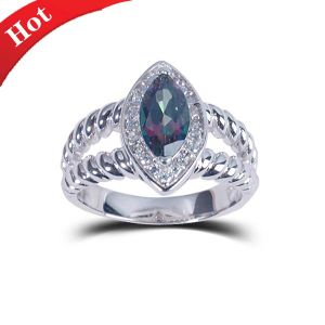 2014 Fashion Wedding Ring Personalized Jewelry Natural Stone pictures & photos