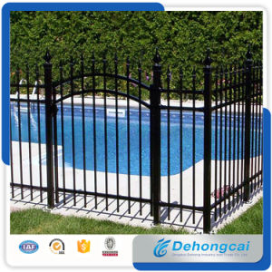 Black Wroght Iron Security Fence for Swimming Pool with SGS Certification/Pool Fence pictures & photos