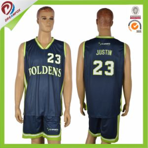 2017 New Design Porpular Sublimated Basketball Jerseys Wholesales Design pictures & photos