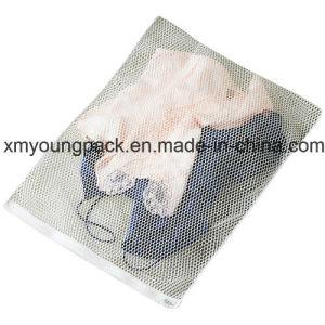 Promotional White Nylon Mesh Net Lingerie Laundry Wash Bag pictures & photos