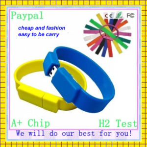 Promotion USB Wristband USB Flash Drive Bracelet (GC-SW-001) pictures & photos