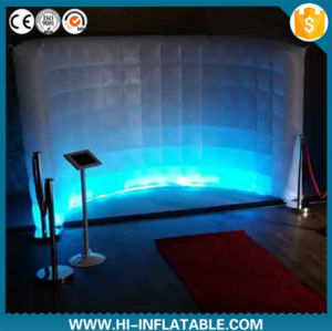 Portable Photo Booth, Trade Show Inflatable Wall, Stage Inflatable Decoration pictures & photos
