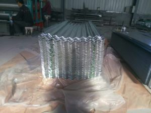 Hot Dipped Galvanized Corrugated Steel Sheets pictures & photos