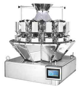 14 Heads 0.5L Mini Multihead Weigher with Falt Bucket pictures & photos