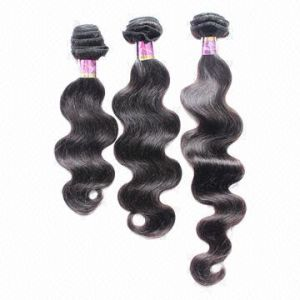 Premium Remy Virgin Malaysian Human Hair Weft Extensions pictures & photos