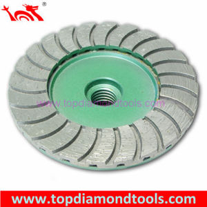Turbo Wave Diamond Grinding Cup Wheel pictures & photos