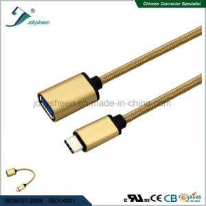 USB3.1c Male to USB3.0 a/Female OTG Cable Ce RoHS Standards pictures & photos