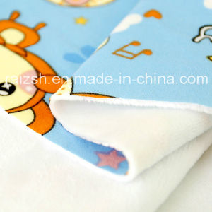 Milk Silk Composite Fabric for Underwear Super Soft Short Plush pictures & photos