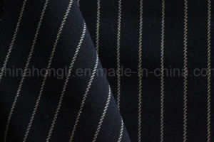 Striped Poly Rayon Fabric for Winter Collection pictures & photos