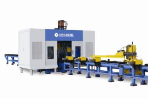 H Beam Sawing and Drilling Line Model TSC1000 pictures & photos