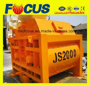 Twin-Shaft Js2000 Concrete Mixture Machine on Hignest Quality pictures & photos