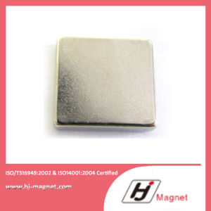 Super Power Customized Permanent NdFeB Neodymium N35 Block Magnet pictures & photos
