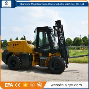 China 3.5 Ton All Rough Terrain Forklift with Best Price pictures & photos