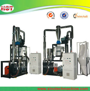 PVC HDPE Pet Plastic Grind Machine Intof Scrap or Powder pictures & photos