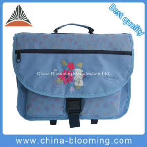 Girl′s Wheeled School Student Backpack Trolley Rolling Bag pictures & photos