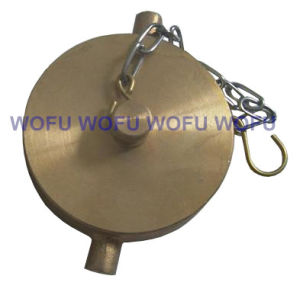"1.5"" Brass Cover with Chain for Landing Valve pictures & photos"