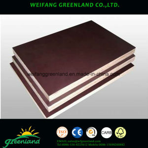 15mm Two Times Hot Press Quality Fillm Faced Plywood pictures & photos