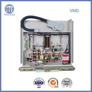 Truck Type Indoor High-Voltage 40.5 Kv Vmd Vacuum Circuit Breaker 2000A with Assembly Pole