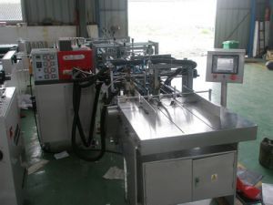 Shopping Paper Bag Bottom Pasting Machine (LM-FT-50) pictures & photos