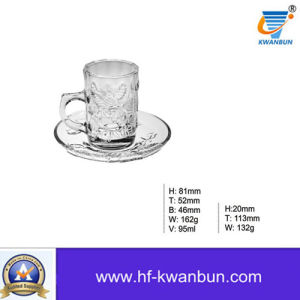 Glass Cup Glassware Machine Pressed Beer Glass Cup Kb-Hn0341 pictures & photos