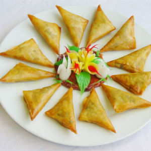 Tsing Tao Curry Powder Vegetable Frozen 12.5g/piece X 96pieces Samosas pictures & photos