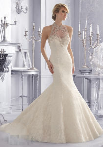 Lace Bridal Wedding Gowns (WMA101) pictures & photos