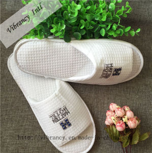 White Waffle Slippers /Hotel Amenity Slipper, Hotel Supplies pictures & photos