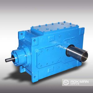 Right Angle B Series Industrial Gearbox pictures & photos