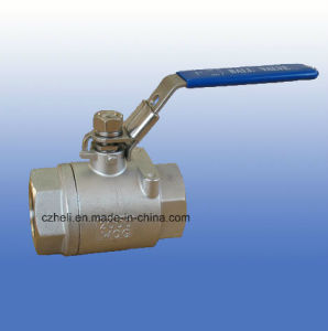 2PC Heavy 2000wog Full Port Ball Valve pictures & photos