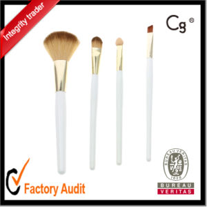 White Makeup Brush/4PCS Makeup Brush Set/Make up Brush with Private Label pictures & photos