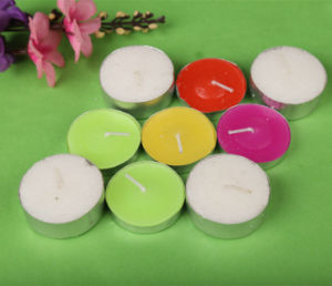 Tea Light Candles/Factory Price Tealight Candle /Burning Time 8hrs pictures & photos