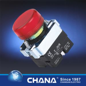 Pushbutton Switch with Indicator Light 6V-380V pictures & photos