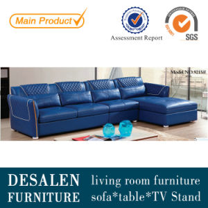 Promotion PU Leather Living Room Furniture Sofa (9215) pictures & photos