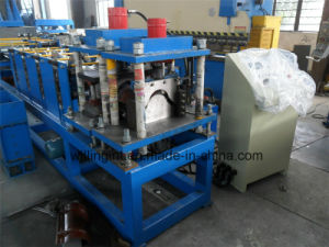 Glazed Steel Tile Step Tile Ridge Cap Forming Machine pictures & photos