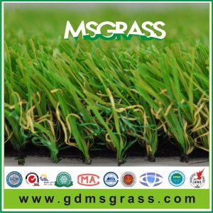 Colored Artificial Grass for Landscaping (MSK-B35N17EM)