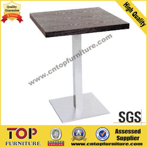 Durable Square Stainless Steel Restaurant Coffee Cocktail Tables pictures & photos