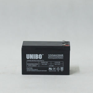 Solar Battery 12V8ah High Quality Solor System AGM Lead Acid Battery pictures & photos