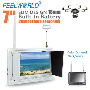 7 Inch Fpv LCD Monitor Hexacopter Motor with Video Outputs and DC Output