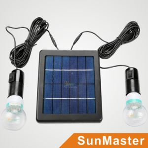 Sunmaster Solar LED Lighting System (2W/5V) pictures & photos