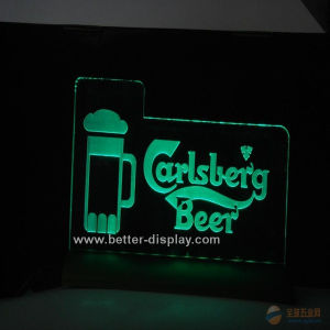 Custom Clear LED Sign Board with Logo (BTR-I4001) pictures & photos