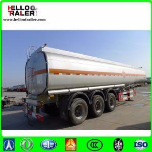Manufacturer 42000L Aluminum Alloy 5858 3 Axle Fuel Tranfer Tank Trailer pictures & photos